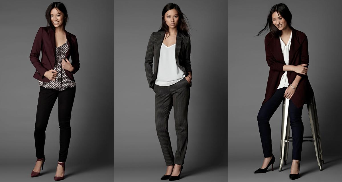 a28c612fe188 Crédit photo: RW&Co Découverte : 5 marques parfaites pour votre petit look  corpo de bureau
