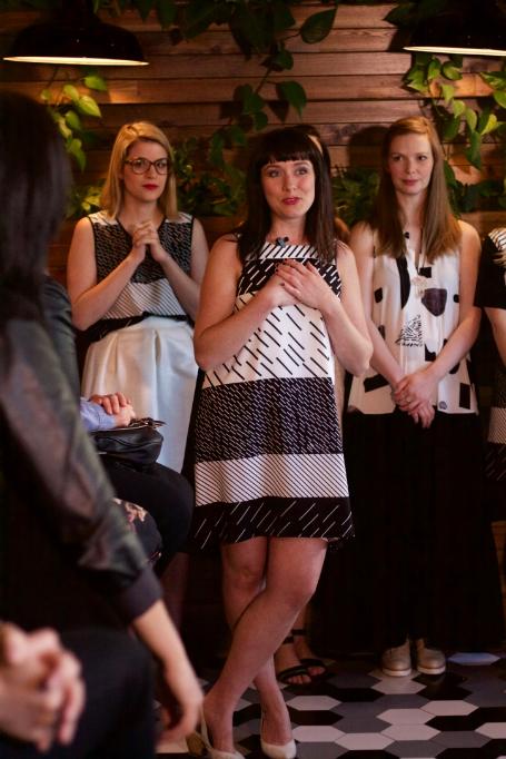 Des photos du défilé de Marigold au Fitzroy pour le lancement de sa collection printemps été!