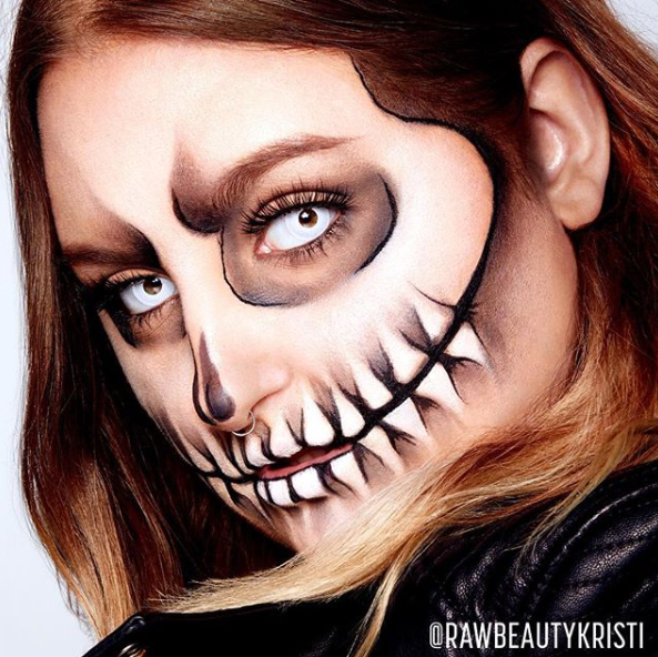 Halloween ou maquillage funky pour l'occasion!