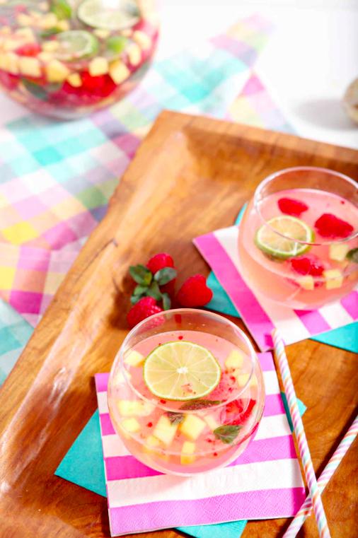 Tes petits cocktails : 15 recettes pour le printemps