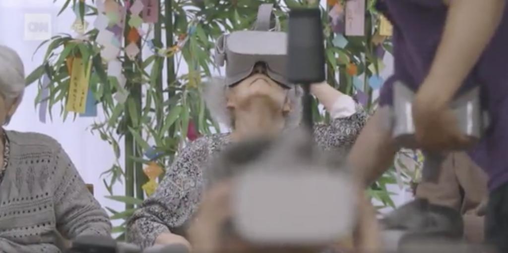 Personne âgée et VR