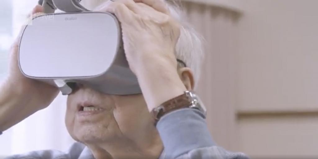 Personne âgée et réalité virtuelle