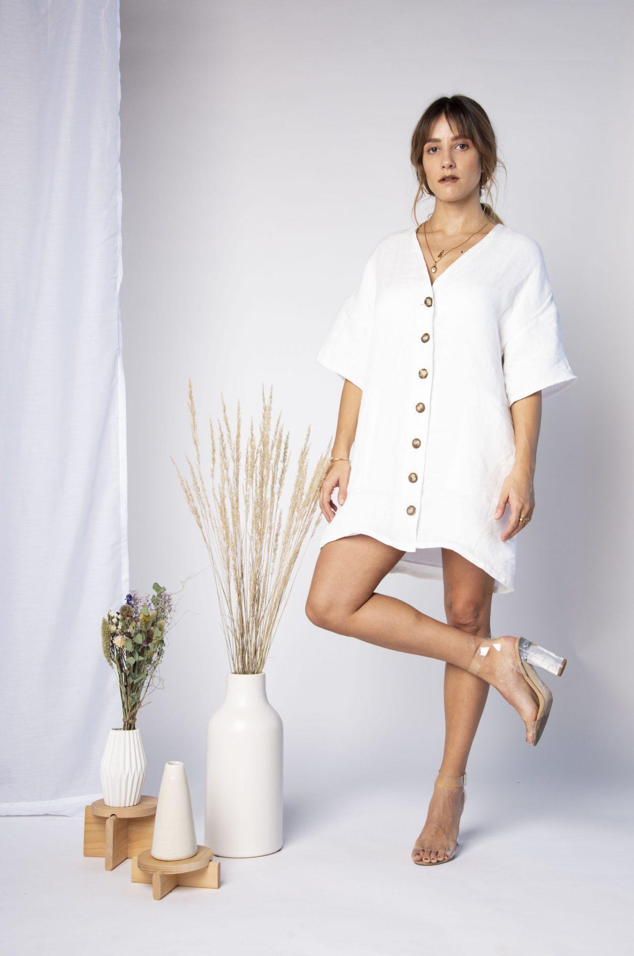 robe à boutons