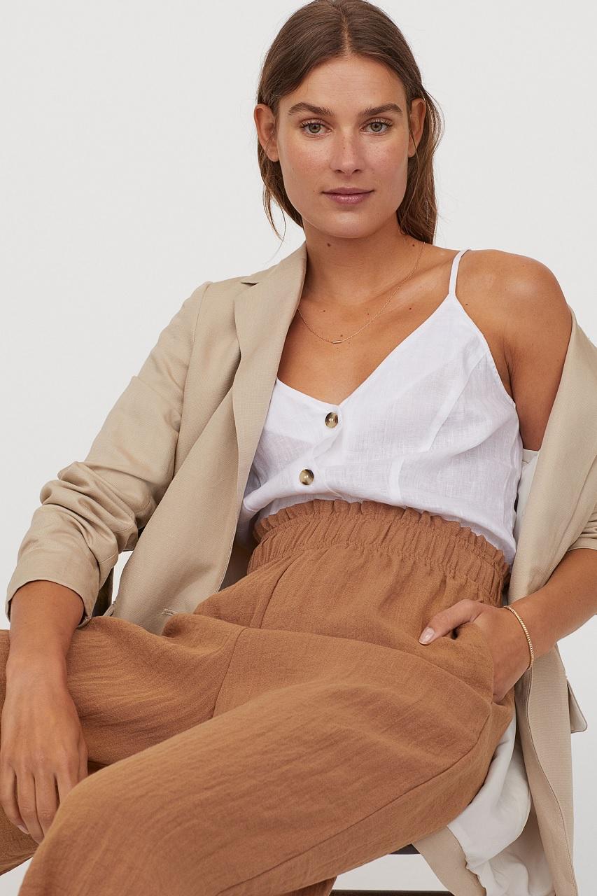 Camisole en lin