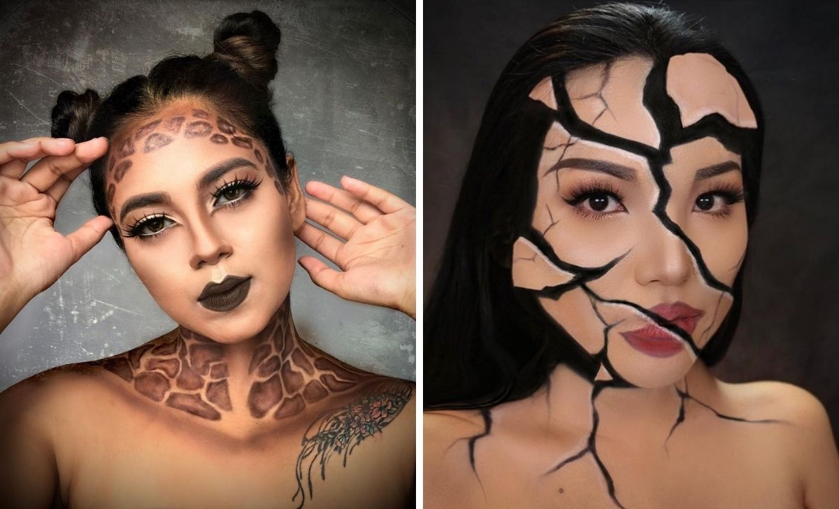 6 maquillages d'Halloween, du plus simple au plus complexe