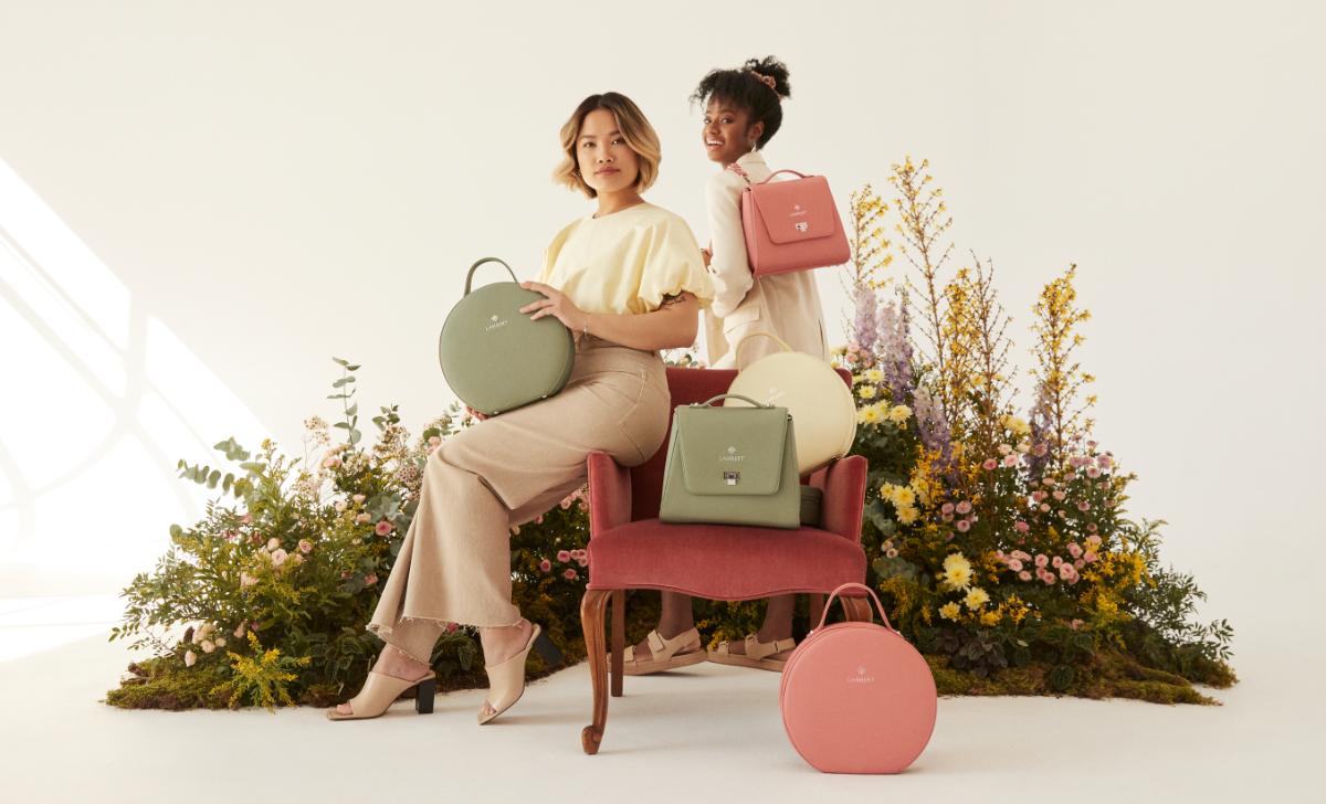 Lambert lance une nouvelle collection de sacs aux couleurs tendance