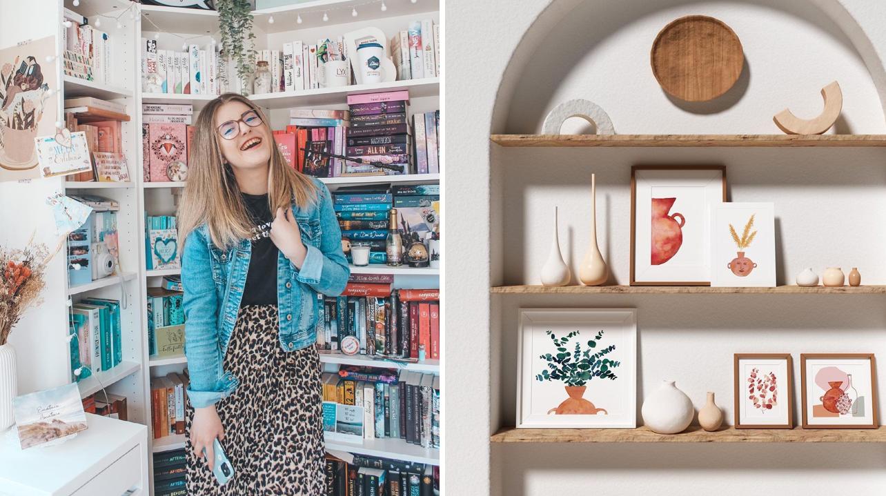 Le shelfie: comment se créer un espace digne d'Instagram à la maison!