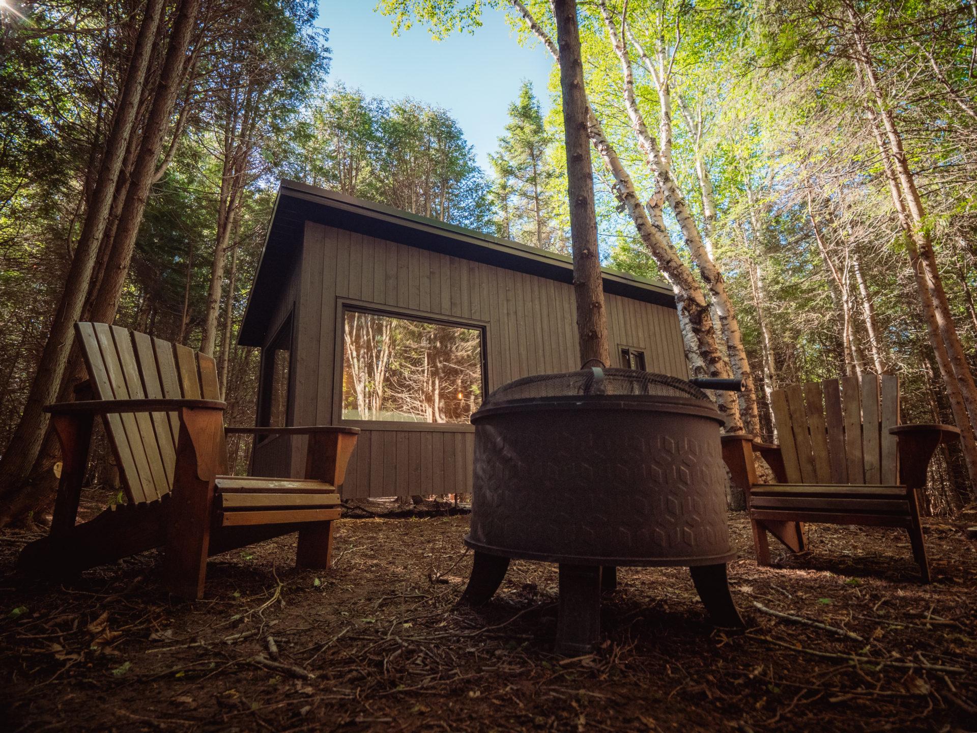 Ces nouvelles éco-cabines vous feront vivre une belle expérience de glamping dans la Baie-des-Chaleurs