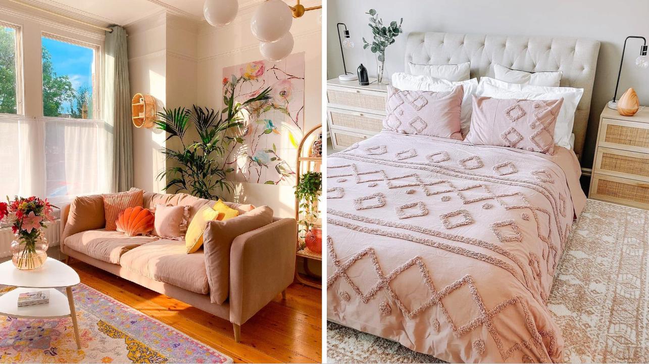 16 photos d'inspiration qui vous donneront envie d'ajouter une touche de rose à votre décor